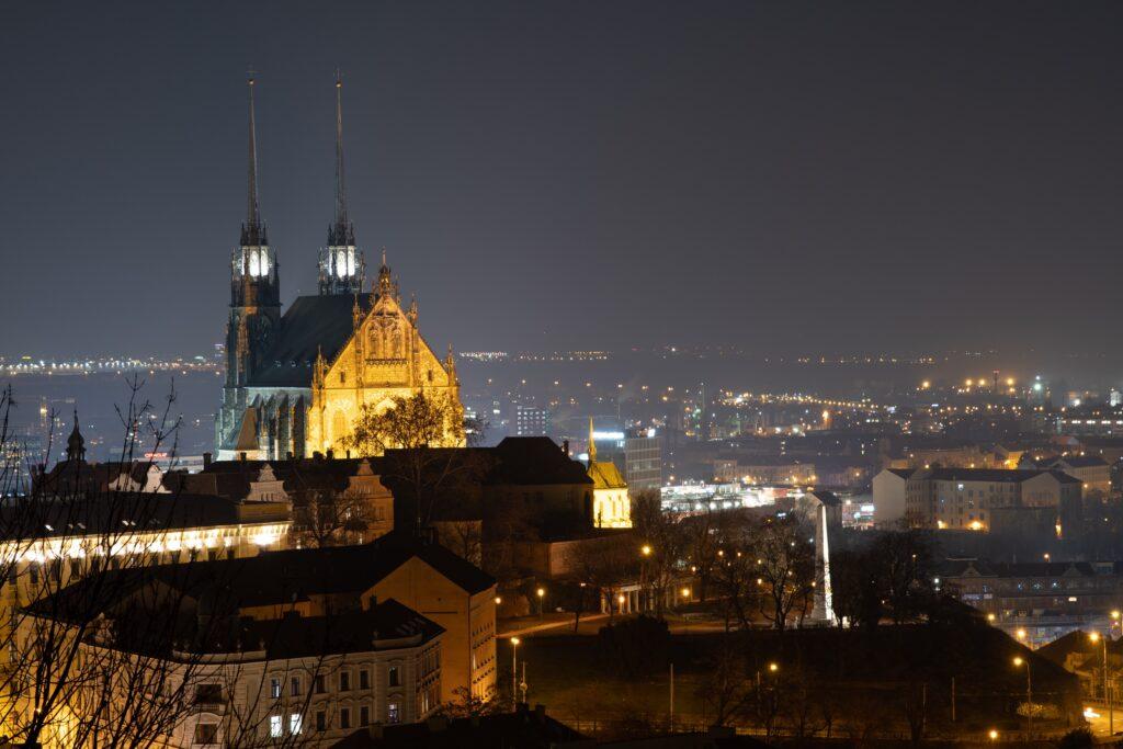 St. Petrov Cathedral in Brno, Czech Republic