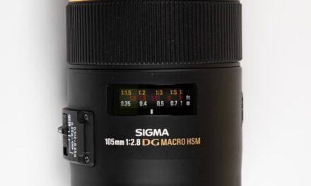 Sigma 105mm F2.8 EX DG OS HSM Macro Lens REVIEW