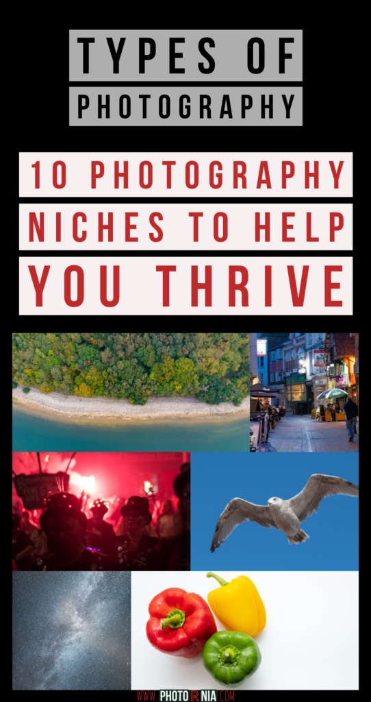 Since modern photography evolved there are many types of photography and photography niches you cannot count. If you are just starting in photography, it is a bit confusing which niche to focus on and which types of photography can be the most profitable as a photographer.>  In this post, we will largely speak about two main subjects: Embracing photography without a specific niche and focusing on a niche. This will also include extra 10 types of photography and niches to focus.