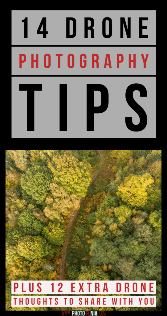 We all know that a drone can produce breathtaking aerial photography with minimal work involved. Here I share with you 14 drone photography tips and bonus 12 extra thoughts for droning.