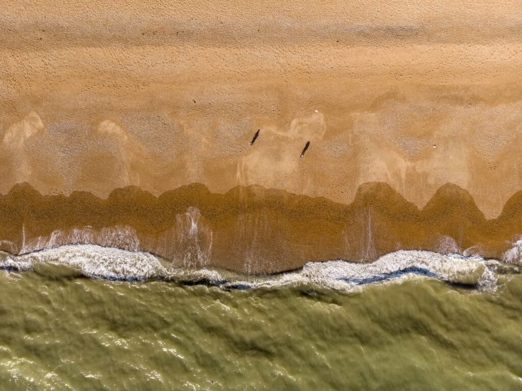 aerial photography waves - creative ideas to photograph