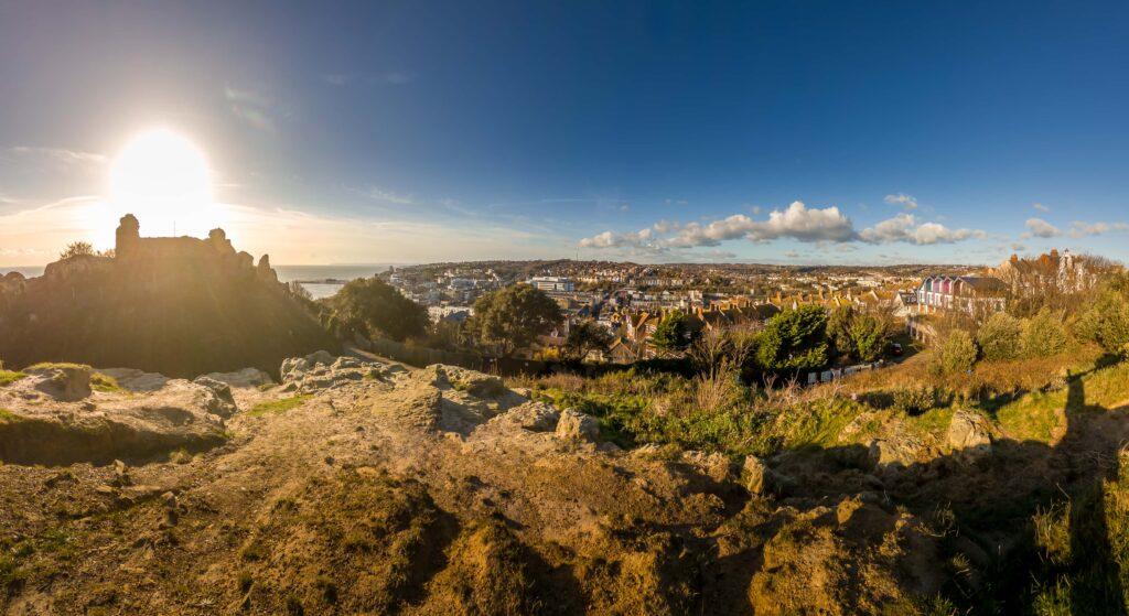 cityscape wide view