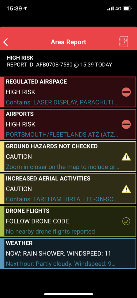 drone assist - fly your drone safely in uk