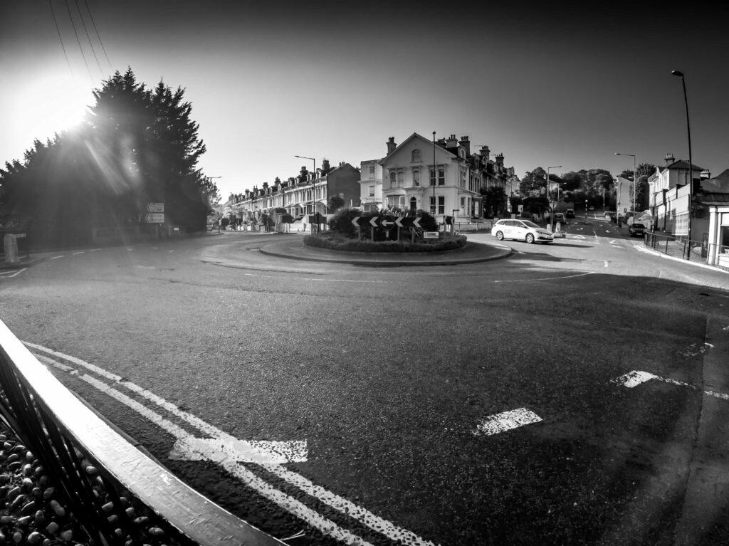 roundabout GoPro photography
