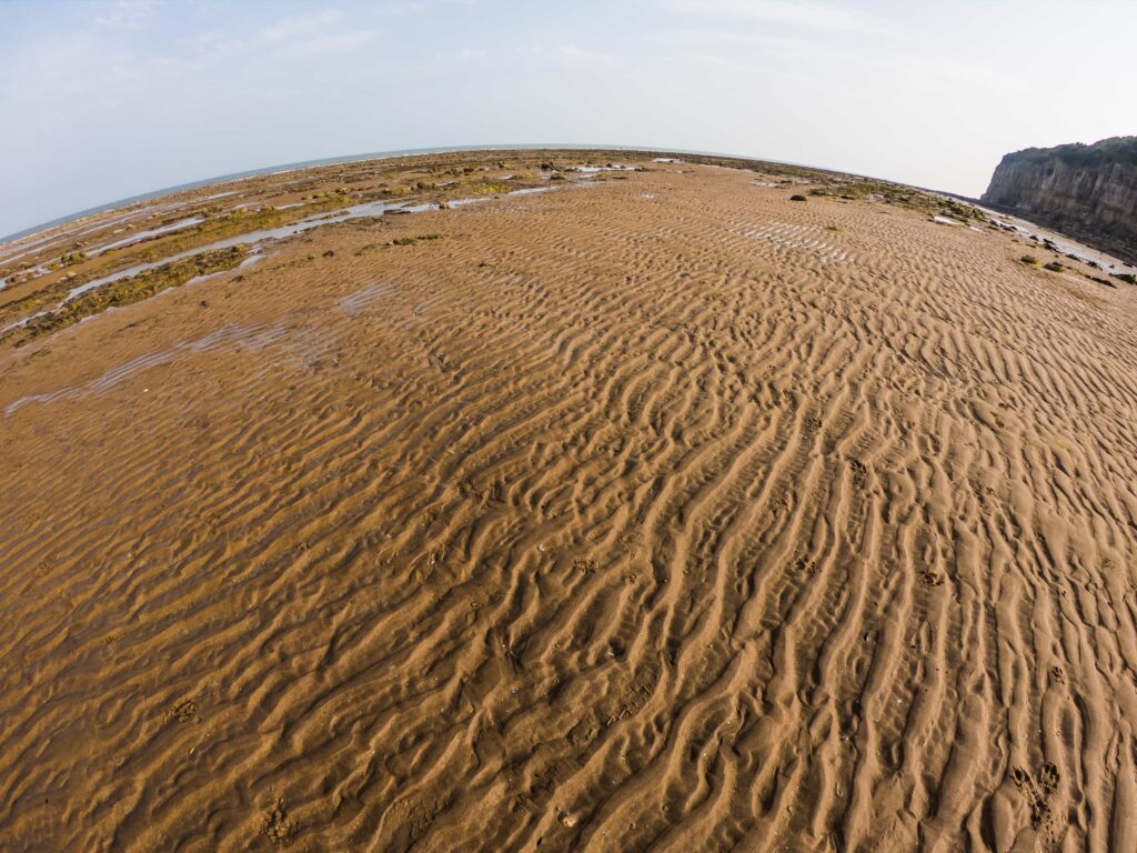 sand beach GoPro photography