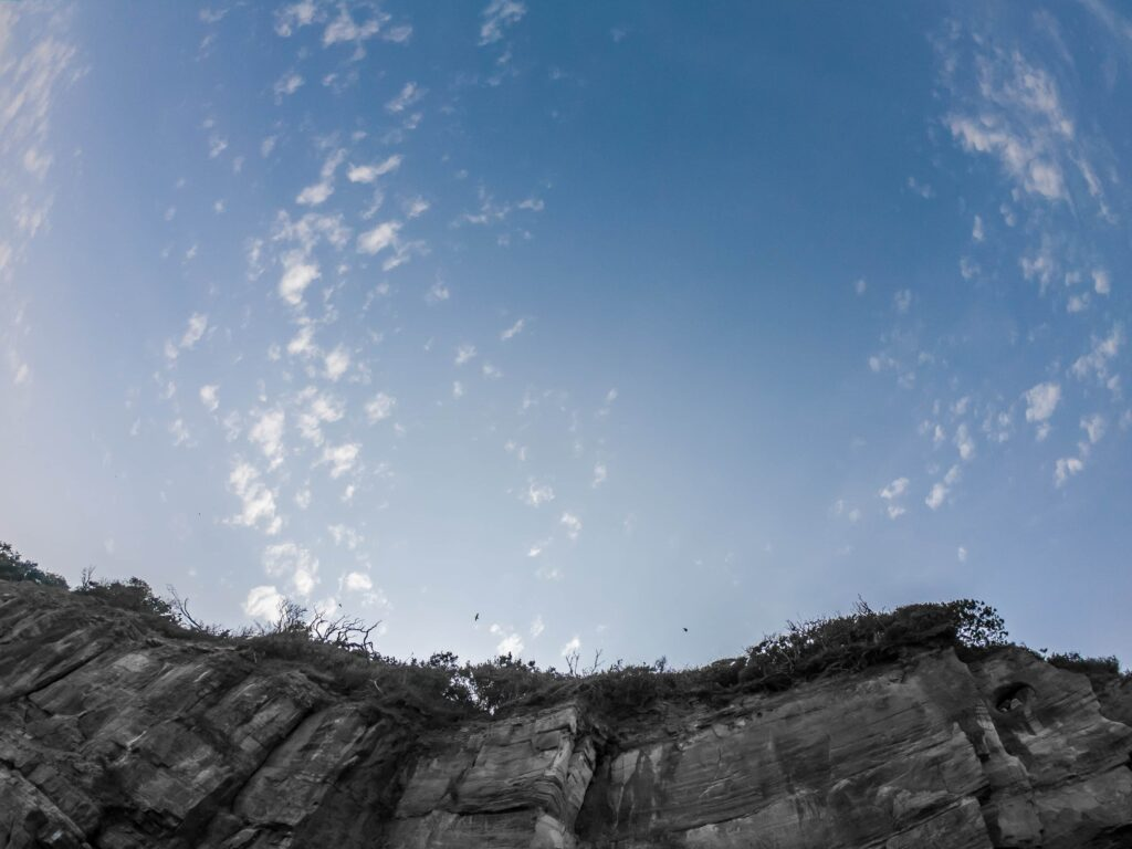 cliffs GoPro photography