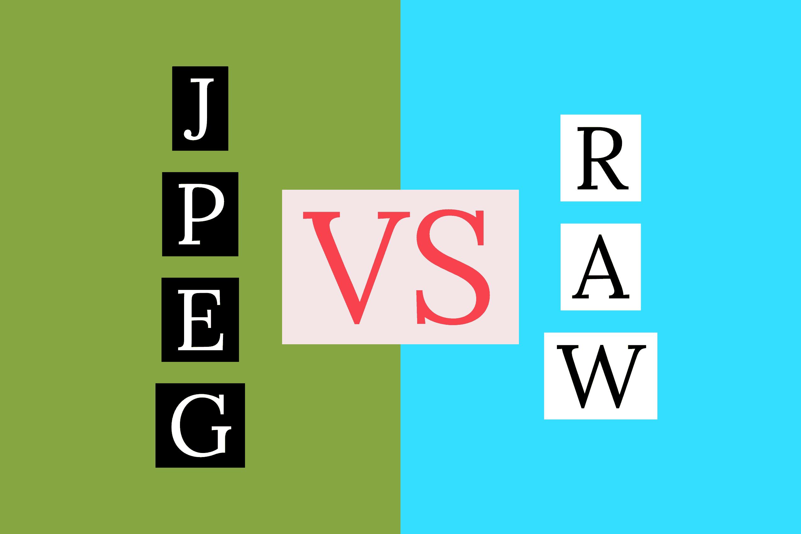 Understanding JPEG vs. RAW