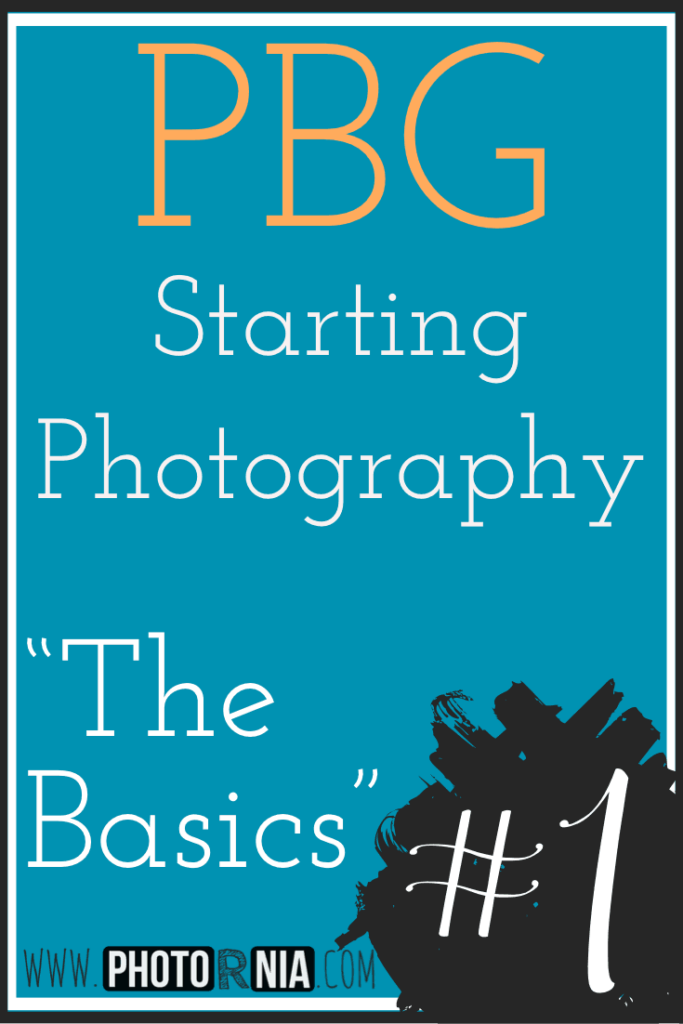 PBG (Photography Beginner Guides) Starting Photography - The basics is first of a long series of posts, an ultimate list of guide written by us covering everything from first steps in photography to the point of becoming a 'pro'