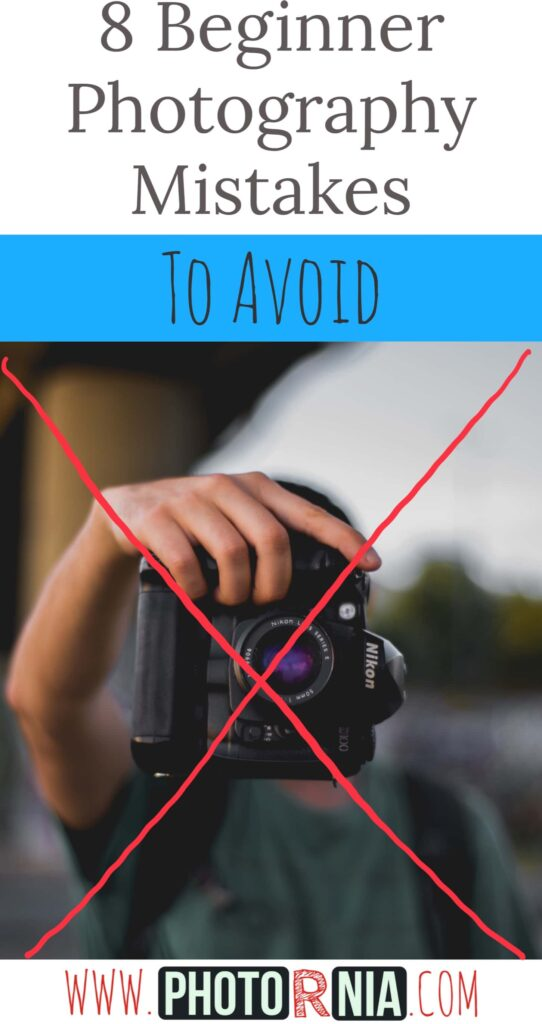8 beginner photography mistakes to avoid. Photography is a learning process and mistakes are part of learning any new skills. In photography, everyone can do mistakes, there is no doubt. Don't undervalue yourself or feel bad if your photography game doesn't reach your requirements. It may be some involuntary mistakes you have been made.