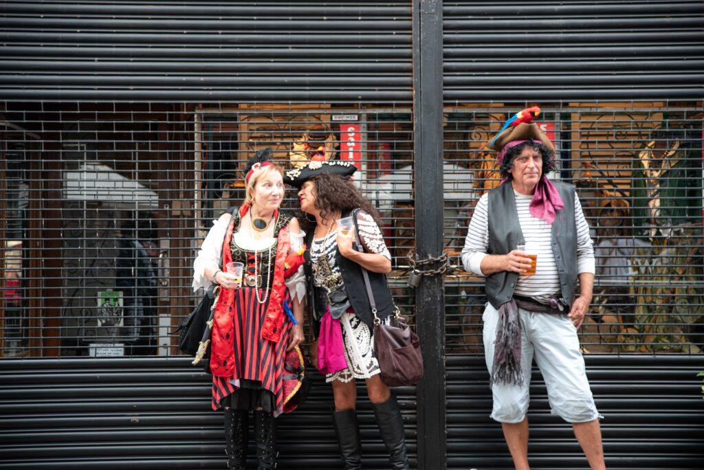 three pirates on hastings pirates day 2019
