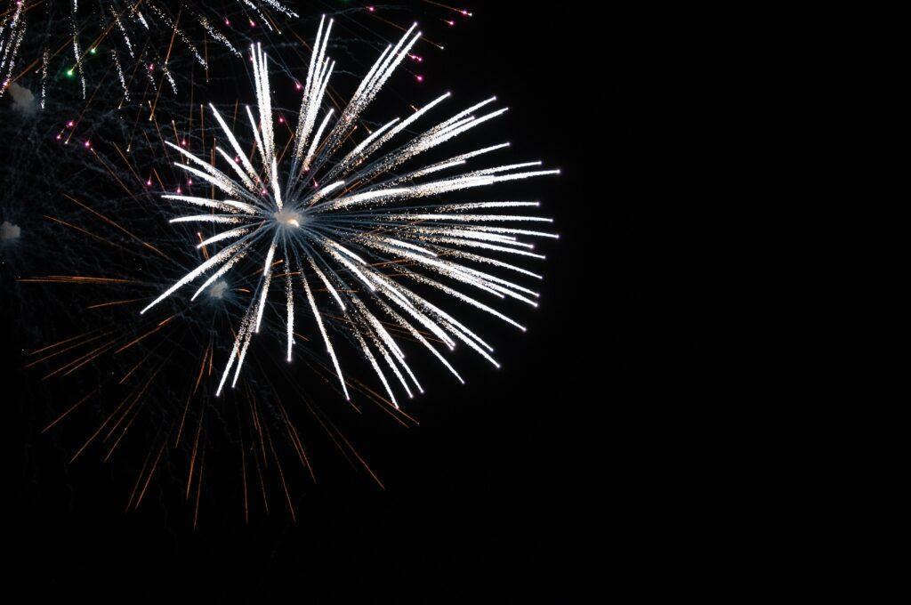 Fireworks fast shutter speed