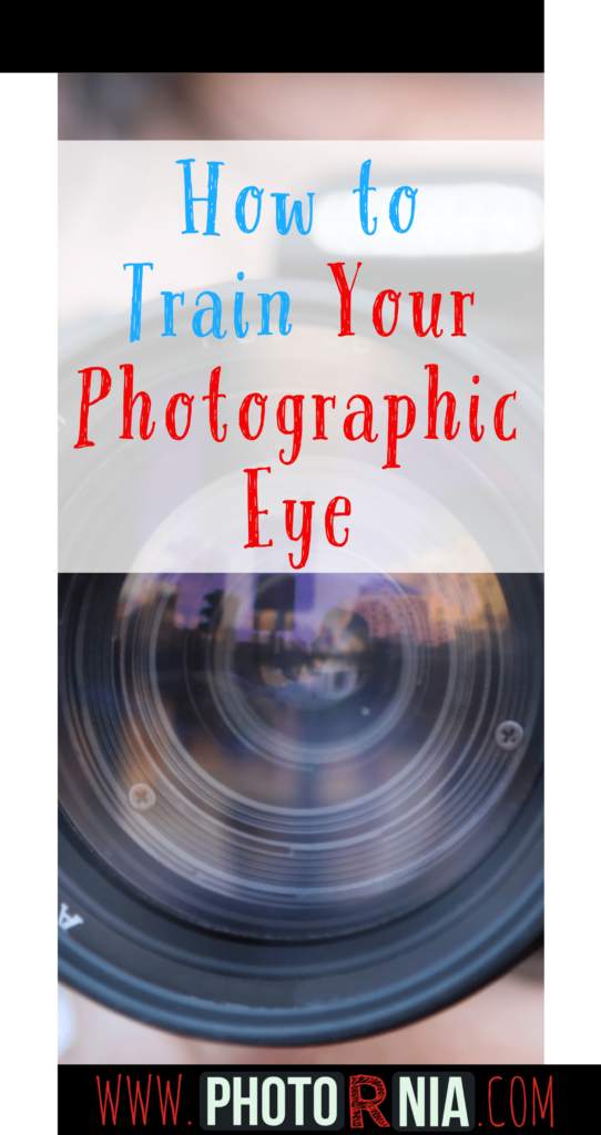 In photography, training your photographic eye or how to say, your eye for photography is one of the most important steps to take in consideration for being a brilliant photographer.