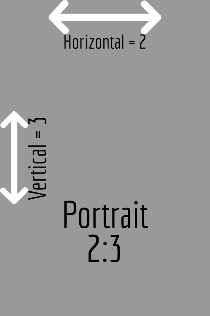 Portrait 2:3 aspect ratio