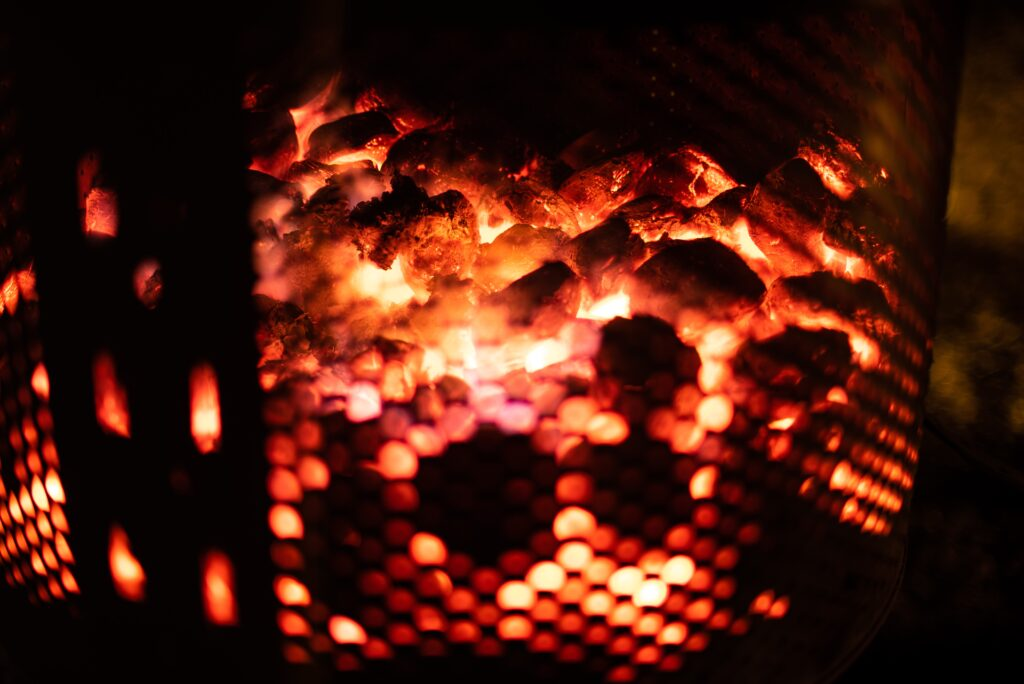 fire pit photography