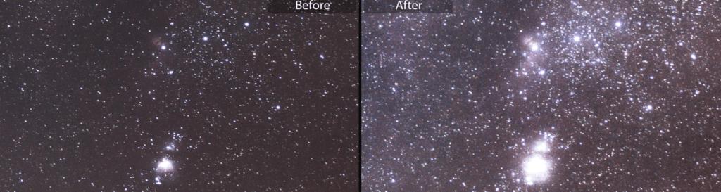 50mm astrophotography tips single exposure vs stacks